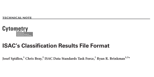 ISAC's Classification Results File Format